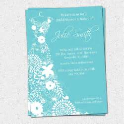 Free printable bridal shower invitations template best template