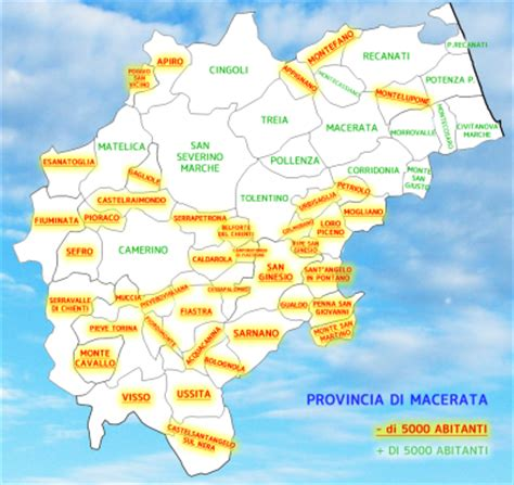 della provincia di macerata fusione dei comuni la regione approva il referendum