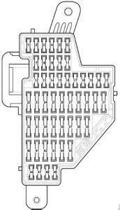 Volkswagen Jetta (2003 - 2009) - fuse box diagram - Auto