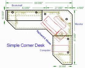 Built In Office Desk Plans Built In Corner Desk Plans Woodwork