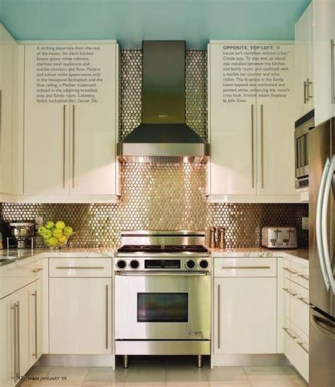 Backsplash To Ceiling by The Fan And Almost Sequin Like Tiles The Go From