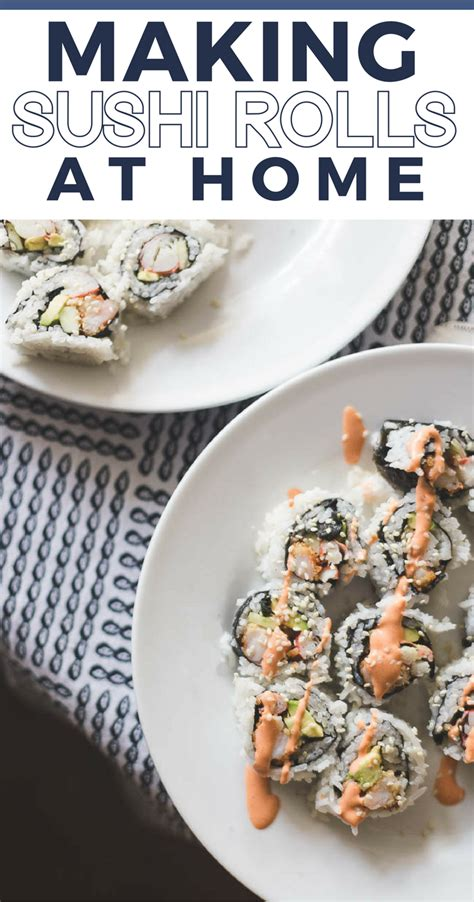 how to make sushi at home family with
