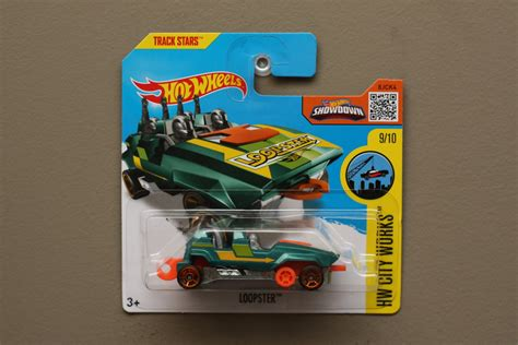 Wheels Hotwheels Loopster wheels 2016 hw city works loopster teal up