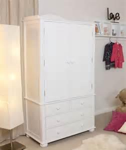 nutkin childrens wardrobe with drawers