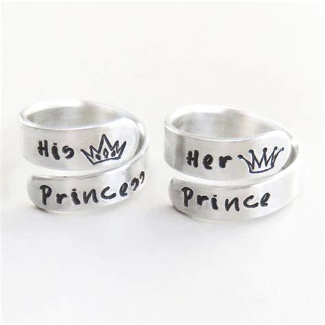 valentines gifts prince princess crown tiara rings