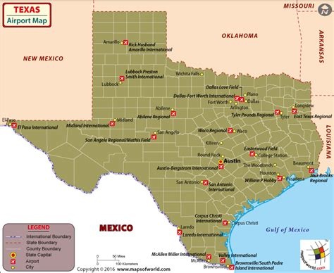 map of texas airports texas airports map airports in texas