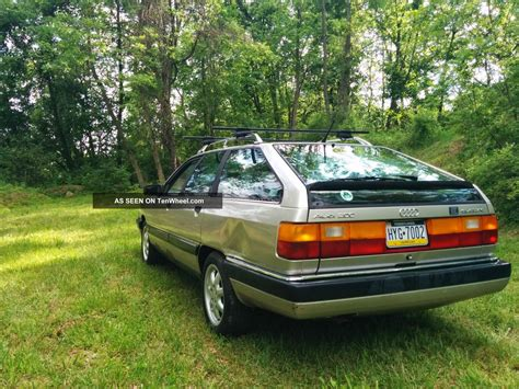 1989 audi 200 quattro avant base wagon 4 door 2 2l 10v not nicht 20v