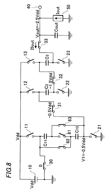 switched capacitor dc dc converter patent us6834001 multi stage switched capacitor dc dc converter patents
