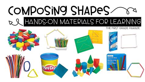 learn 2d and 3d 2d 3d shapes the first grade parade