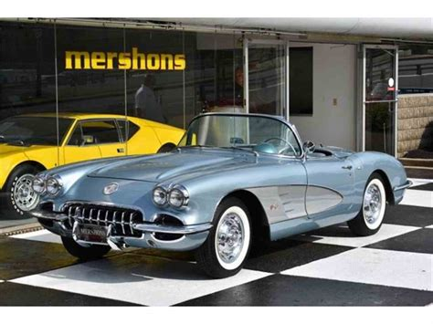 58 corvette for sale 1958 chevrolet corvette for sale classiccars cc 989207