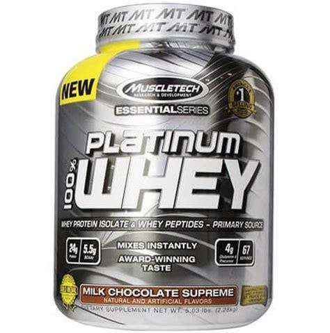 Suplemen Whey Isolate Muscletech Platinum Whey Jual Platinum 100 Whey