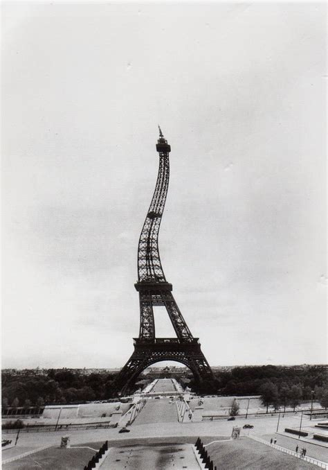 who designed the eiffel tower postcard of the week paris the well travelled postcard