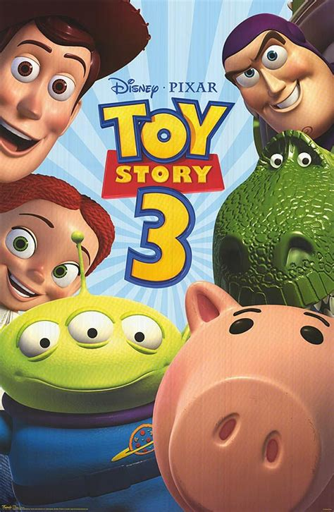 new poster of toy story 3 teaser trailer
