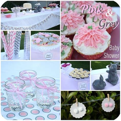 Gray And Pink Baby Shower by Pink And Grey Baby Shower Pink And Grey Baby Shower Pink And Grey Theme