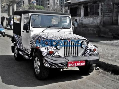 mahindra thar 2017 interior 2015 mahindra thar with updated interiors spied zigwheels