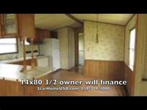 Single Wide Trailer Floor Plans 14x80 Mobile Home Repo Owner Will Finance Trailer