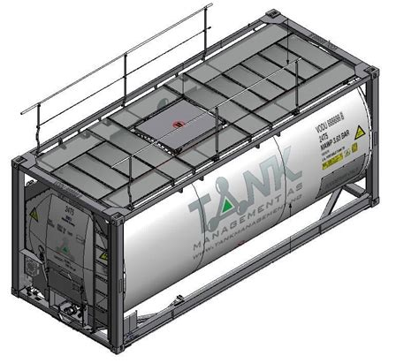 Handrail Specifications Tank Management Food Divsion 25m3 Iso Reefer