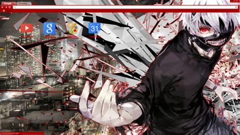 themes google chrome tokyo ghoul tokyo ghoul kaneki chrome theme themebeta