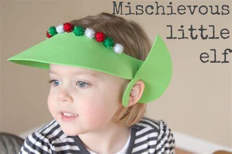 elf headband printable holiday abc series e is for elf make and takes