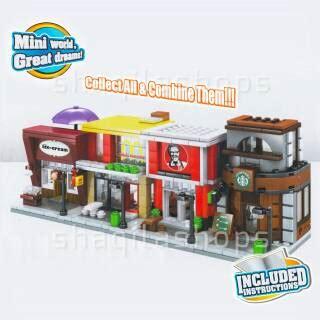 Sembo Block Mc D lego sembo block sd6024 coca cola shopee indonesia