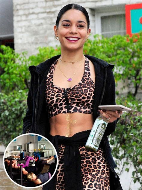 Chair For Babies Vanessa Hudgens We Tried Her Favorite Pilates Class