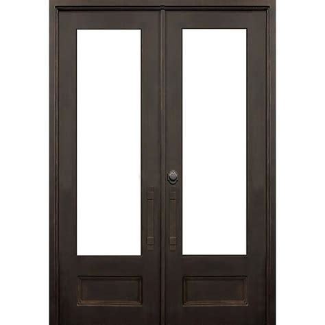 42 inch entry 42 inch entry door home depot 60 in x 80 in jet black