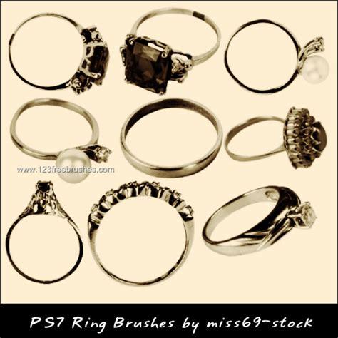 wedding golden rings brushes for photoshop