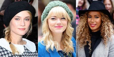 Hairstyles For Hats by Hairstyles To Wear With Hats Hats And Hairstyles