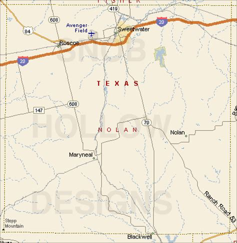 nolan county texas map nolan county texas color map