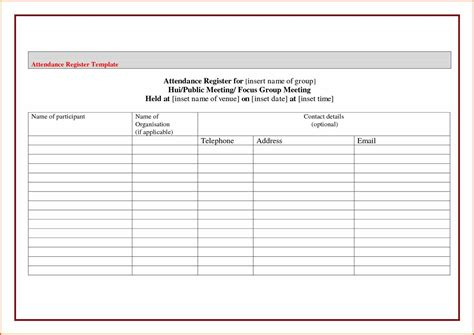 editable sign in sheet template attendance sheet template sheet template microsoft word u