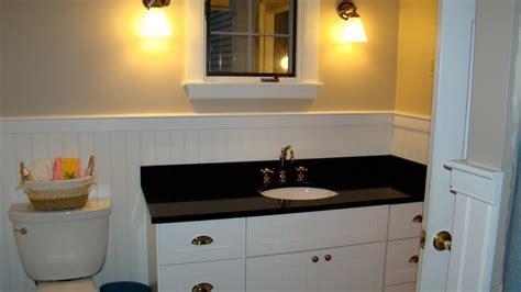 White Bathroom Vanity With Black Granite Top White Bathroom Vanity With Black Granite Top