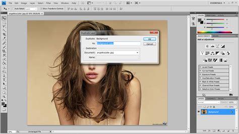 cara edit foto photoshop lukisan cara edit gambar berefek lukisan pensil tutorial photoshop