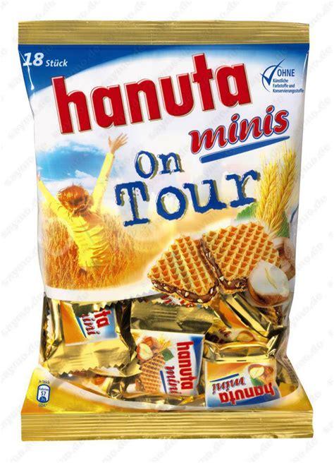Fererro Hanuta Minis 200g by Ferrero Hanuta Minis On Tour 200g S 252 223 Es Salziges Riegel