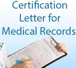 Medical Certification Letter Certification Letter For Medical Record