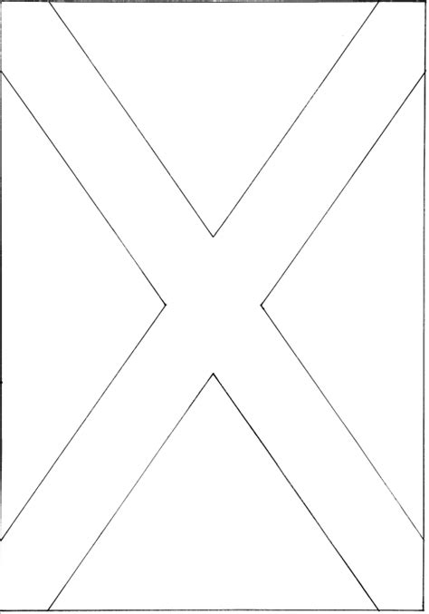 Scotland S Flag The Cross Of St Andrew Scotland Flag Coloring Page