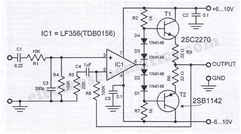 transistor headphone lifier schematic hifi headphone lifier circuit