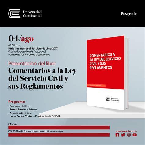 libro servir fil 2017 presentar 225 n libro sobre el servicio civil en el per 250 red de gestores p 250 blicos