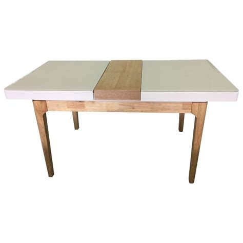 Mdf Dining Table Yarra Mdf Wood Extendable Dining Table In White Buy New Arrivals