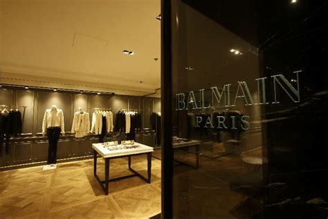 balmain house featured in houses magazine balmain paris opens first store in hong kong with photo