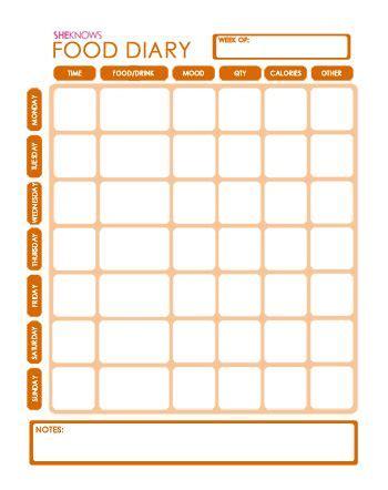 printable food diary ibs food diary to go food diary