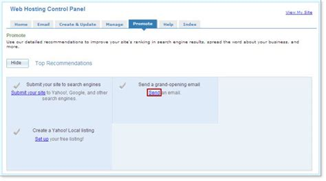 yahoo email hosting yahoo web hosting small business hosting web page how