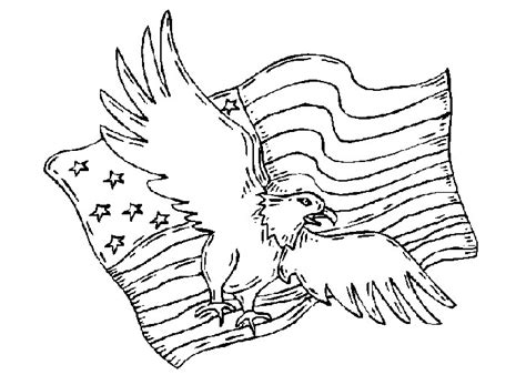 american flag and eagle coloring page free coloring pages of eagle football
