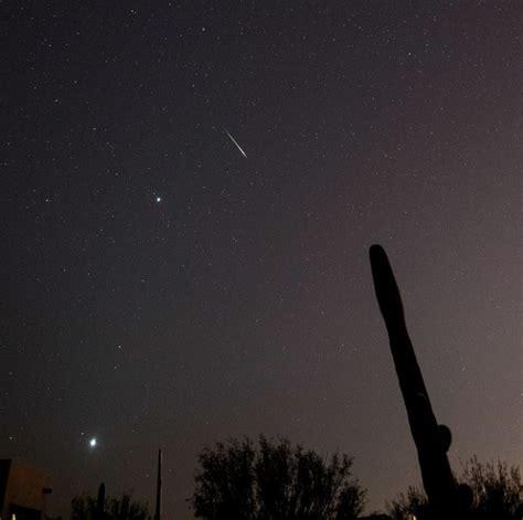 Meteor Shower Tonight Arizona by Venus Mars Jupiter And Meteor Today S Image Earthsky
