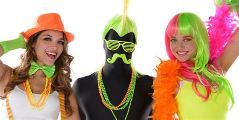 Home Decor Parties Canada neon color city wearables and accessories wigs masks