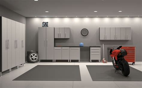 garage painted painting combined with grey rug design idea garage wall paint ideas