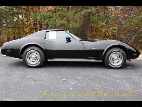 1977 black corvette 1977 black corvette buyavette inc atlanta