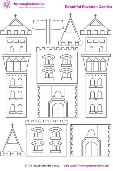 castle cut out template castle cut out template gallery template design ideas
