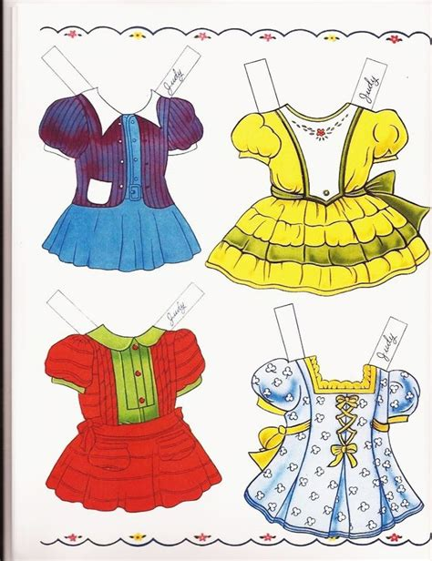 printable paper dolls and clothes 17 best images about cute ideas on pinterest crafts