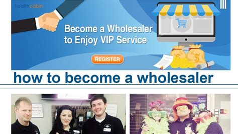 become a wholesaler how to become a wholesaler on the healthcabin website