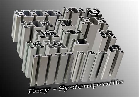 gestell aus alu profilen easy systemprofile easy systemprofile